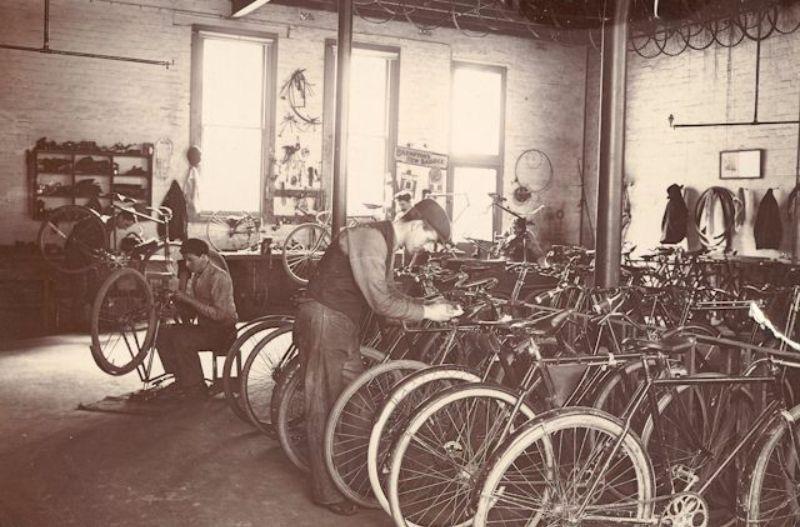 vintage bike shop